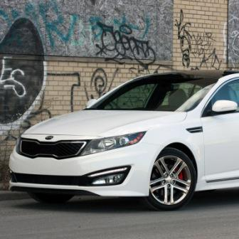 Новая Kia Optima SX Limited 2013