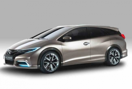 Honda Civic Tourer с системой амортизации