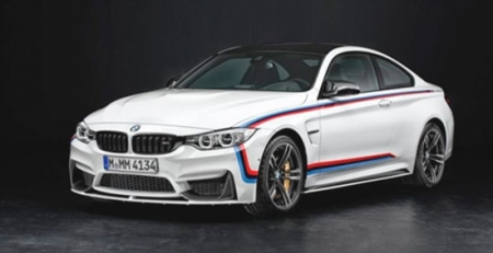 BMW M4 Coupe получил набор M Performance