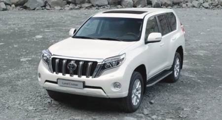 Компания Toyota представит новый Land Cruiser Prado