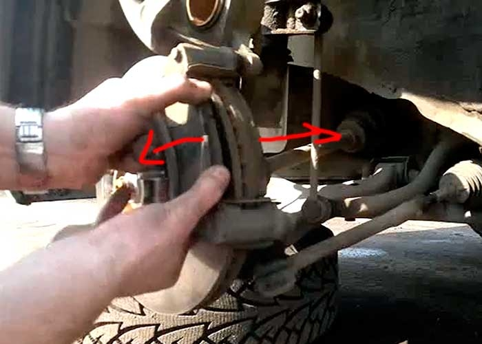 Замена задних тормозных дисков киа сид своими руками 12