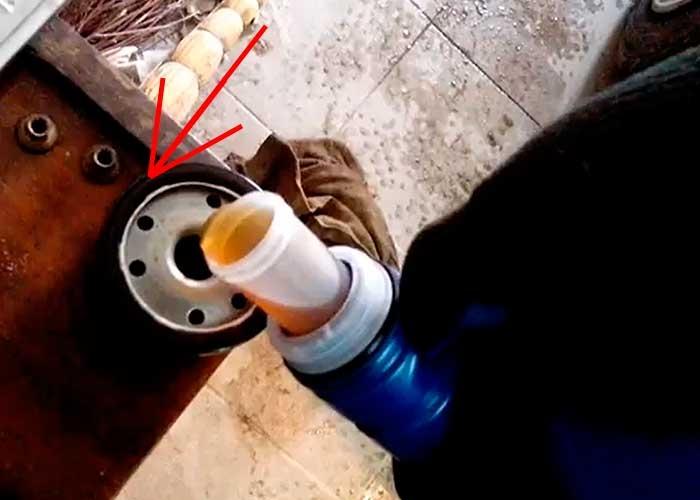 renault symbol замена масла в коробке
