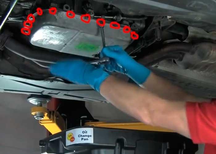 замене масла в акпп BMW e60