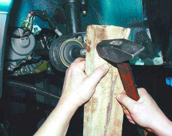 Замена шрус на ваз 2110 своими руками