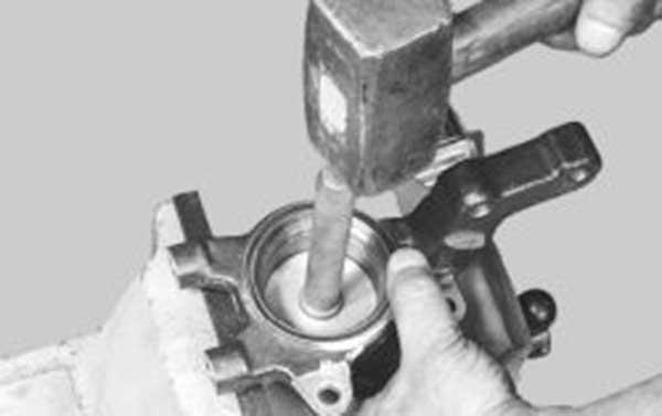 Замена подшипника передней ступицы приора своими руками