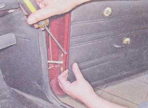 Замена двери ваз 2107 своими руками