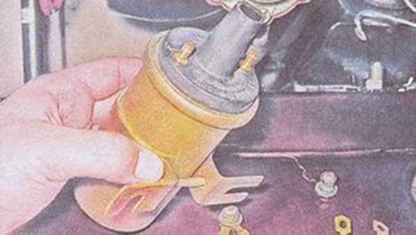 Замена зажиганья ваз 2107