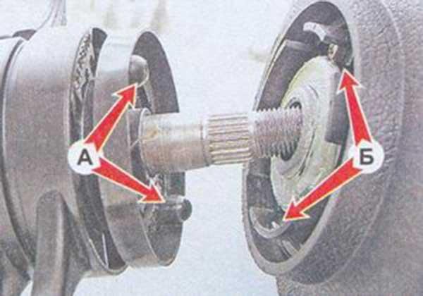 Как снять колесо с ваз 2107