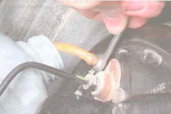 Неисправности тормозов - прокачка и проверка