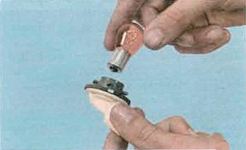 лампа указателя поворота renault logan