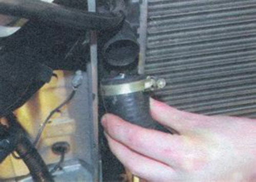 Ремонт калины своими руками системы охлаждения 33