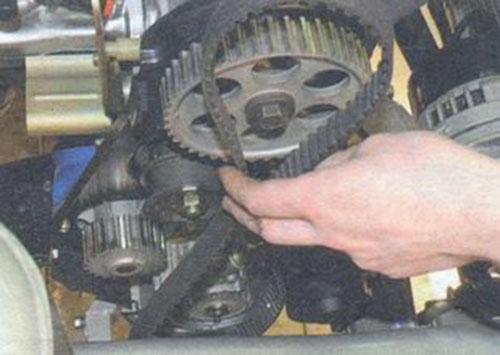 Замена ремня генератора на калине 16 клапанов с кондиционером своими руками 80
