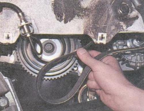 Замена ремня генератора на калине 16 клапанов с кондиционером своими руками 94