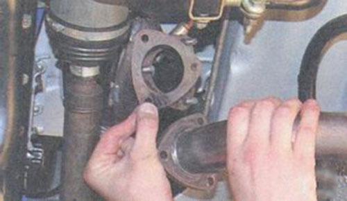 Замена резонатора на приоре своими руками видео