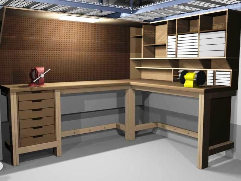 Слесарные верстаки: как выбрать подходящий вариант для гаража?