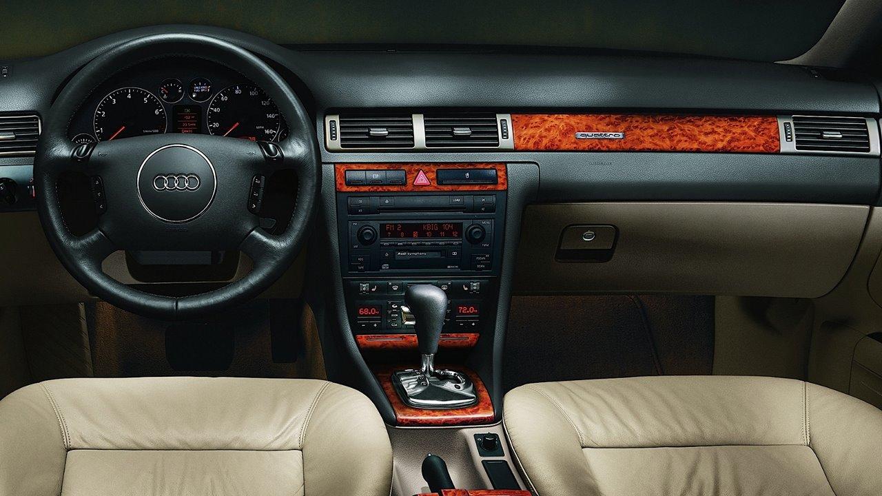 Ключевые поломки автомобиля Audi A6