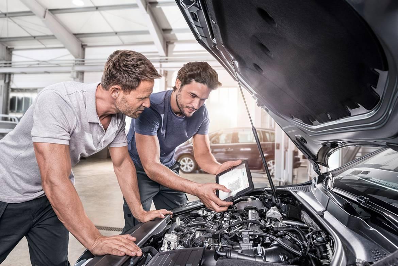Ремонт автомобилей в автосервисе Bosch