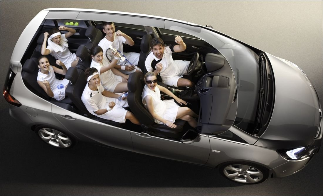 Семейные семиместные автомобили