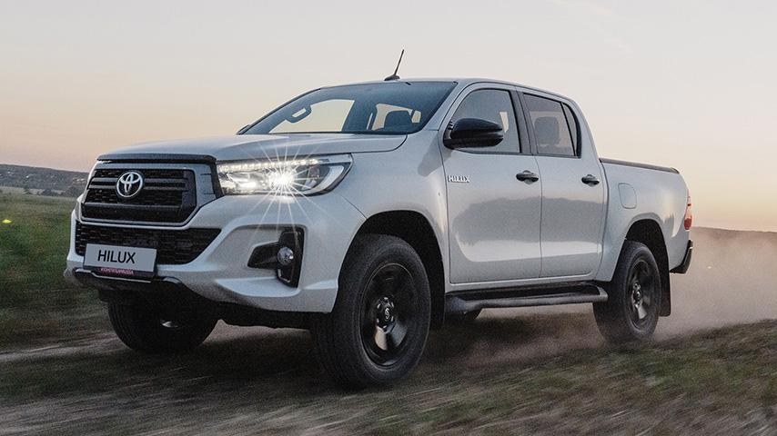 Toyota Hilux и Volkswagen Amarok: автомобили для настоящих мужчин