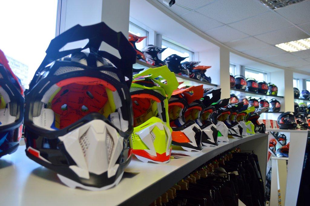 Особенности выбора современных мотоциклетных шлемов
