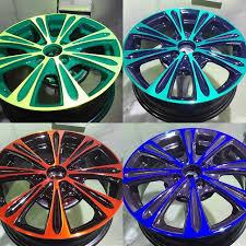 Особенности порошковой окраски дисков автомобилей