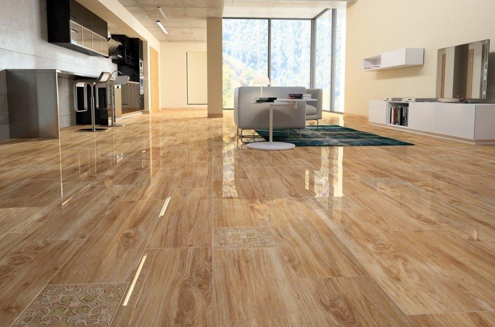 Керамическая плитка – практичное напольное покрытие